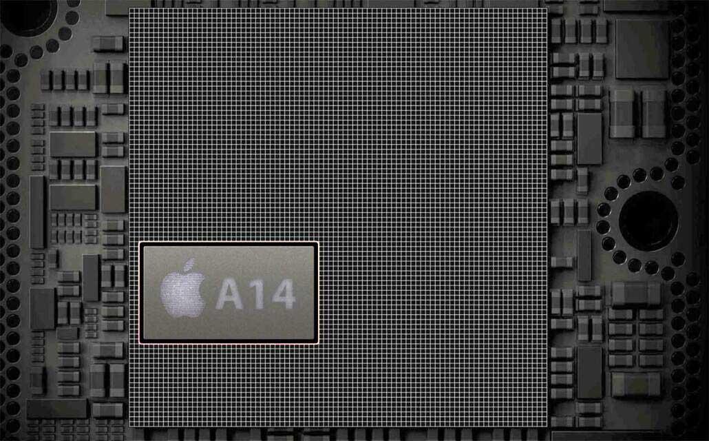 تراشه اپل A14
