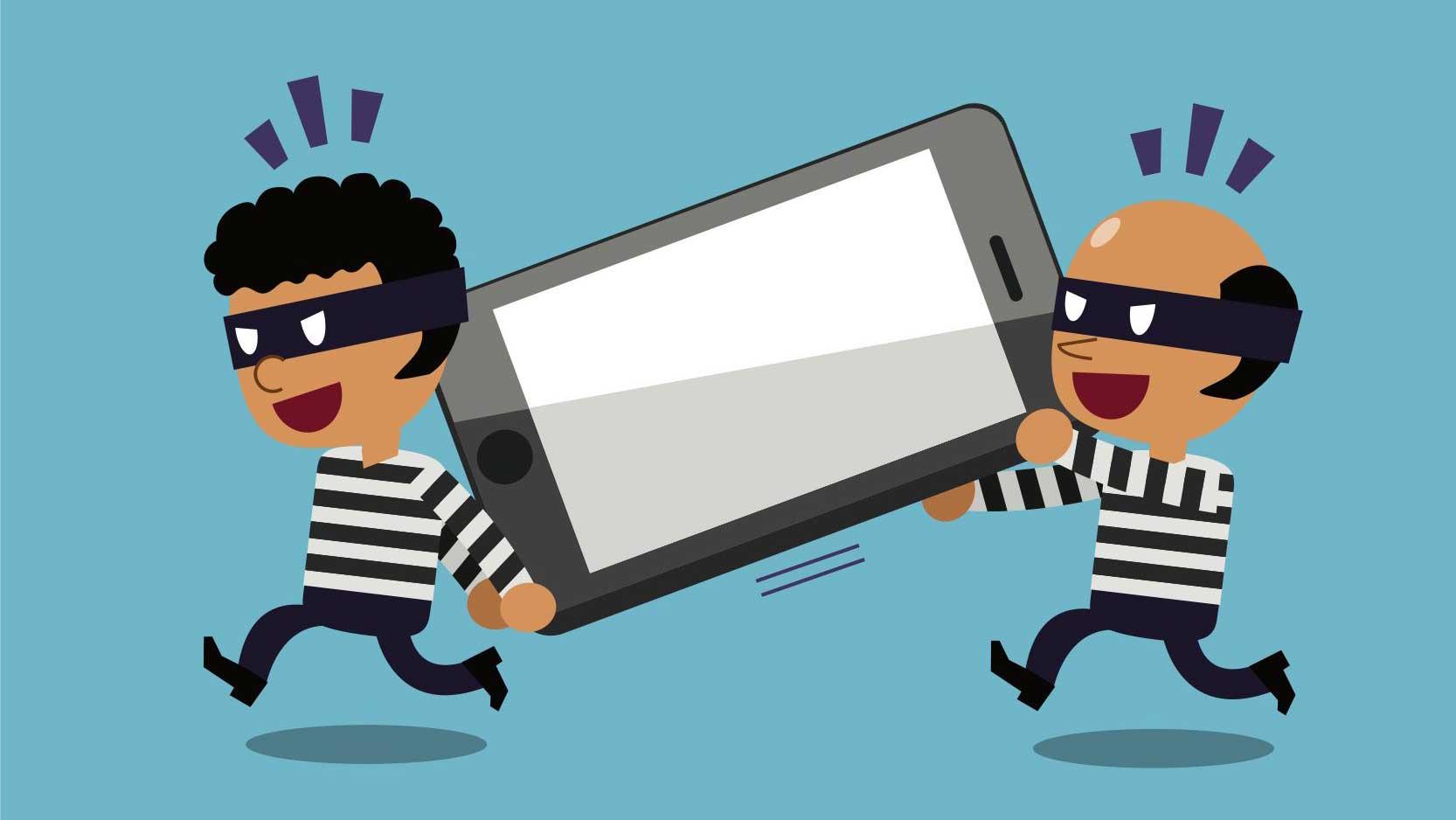 دزدی موبایل