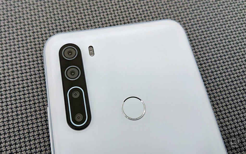 دوربین اچ تی سی U20 5G