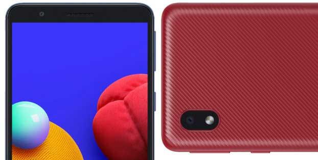 گلکسی A01 Core یک گوشی اقتصادی با طراحی ساده خواهد بود