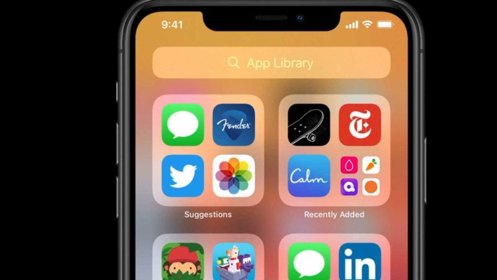 ویژگی App Library