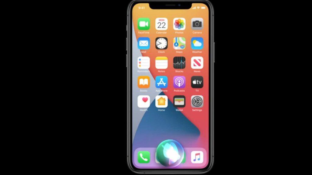 طراحی جدید سیری در iOS 14