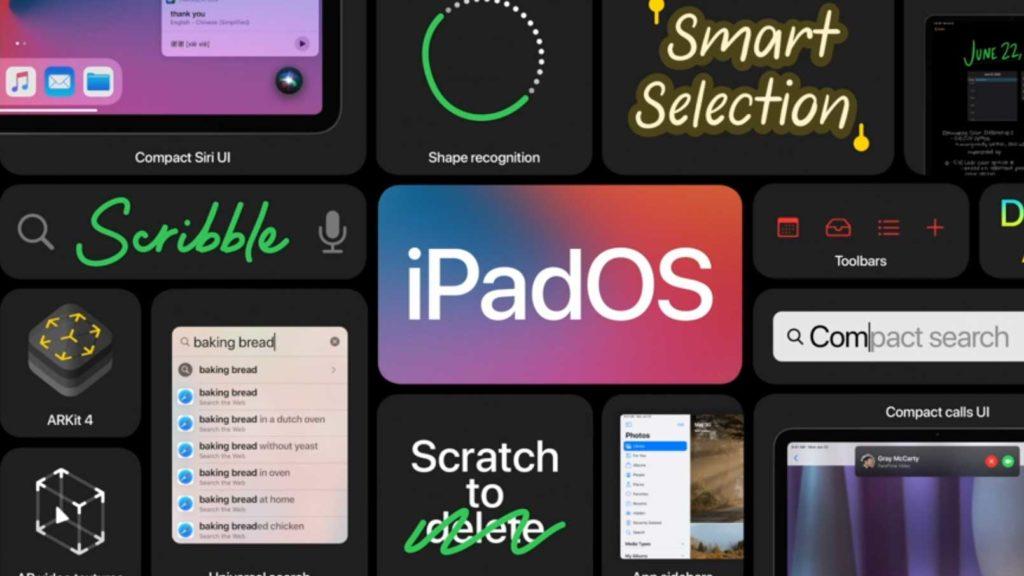 سیستم عامل iPadOS 14 اپل