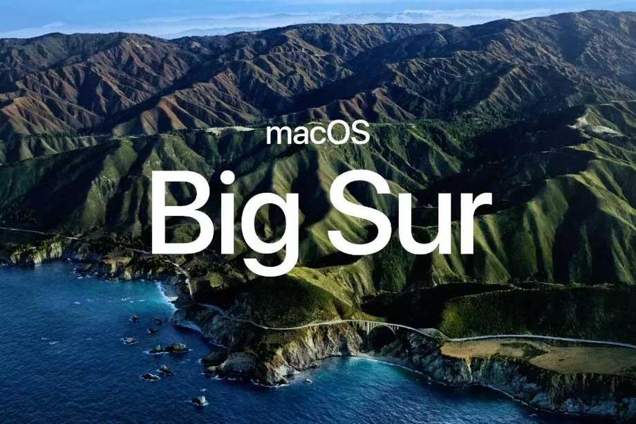 سیستم عامل اپل macOS Big Sur