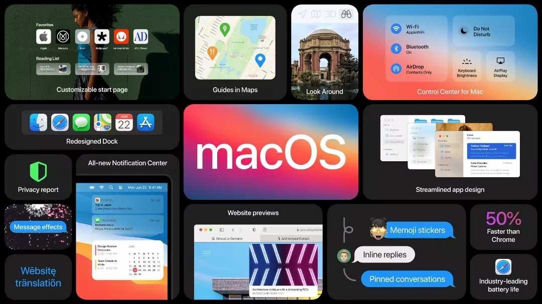 آپدیت macOS Big Sure