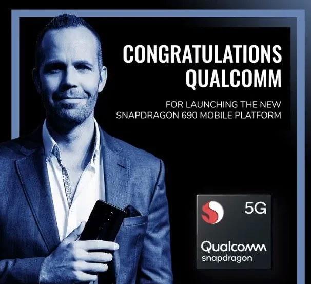 تیزر گوشی 5G نوکیا با اسنپدراگون ۶۹۰
