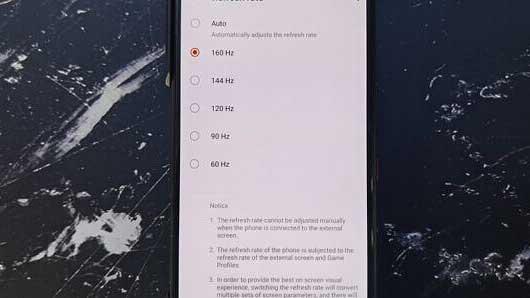 نمایشگر ایسوس ROG Phone 3