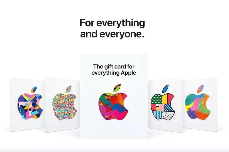 گیفت کارت Everything Apple اپل : یک گیفت کارت برای تمام خدمات