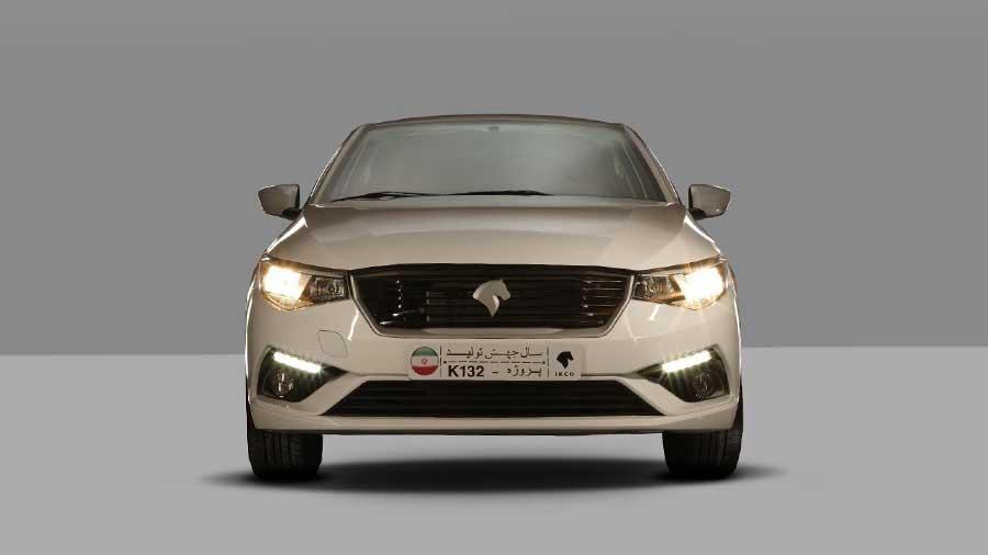 رندرهای رسمی ایران خودرو K132