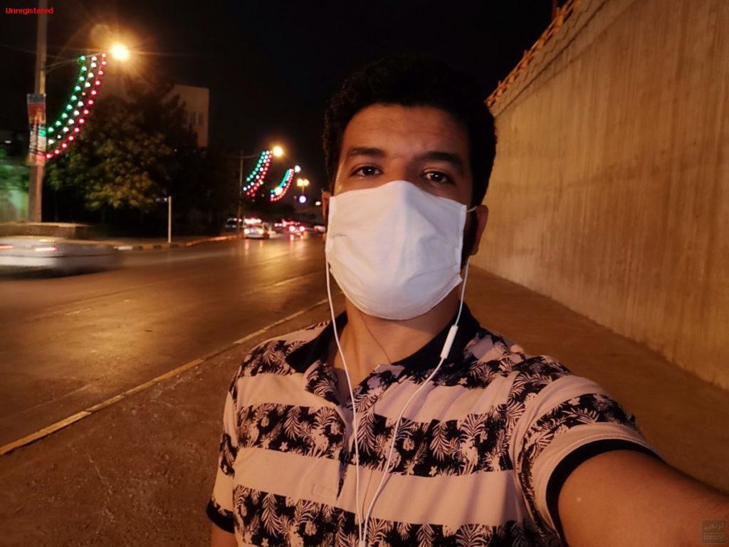 عکاسی حالت شب با فلاش نمایشگر