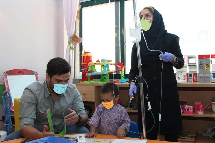 برای سلامتی کودکان مبتلا به سرطان دارو نذر کنیم