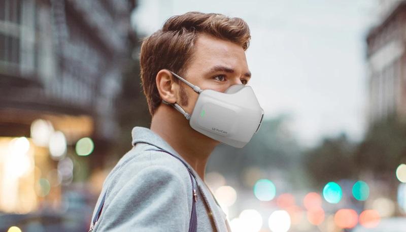 الجی در IFA 2020 از ماسک تهویه گر هوا رونمایی میکند