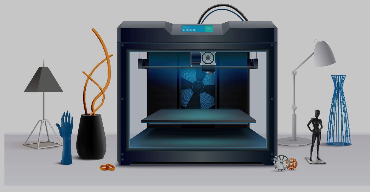 با پرینتر سه بعدی طرح های خود را به واقعیت تبدیل کنید؟