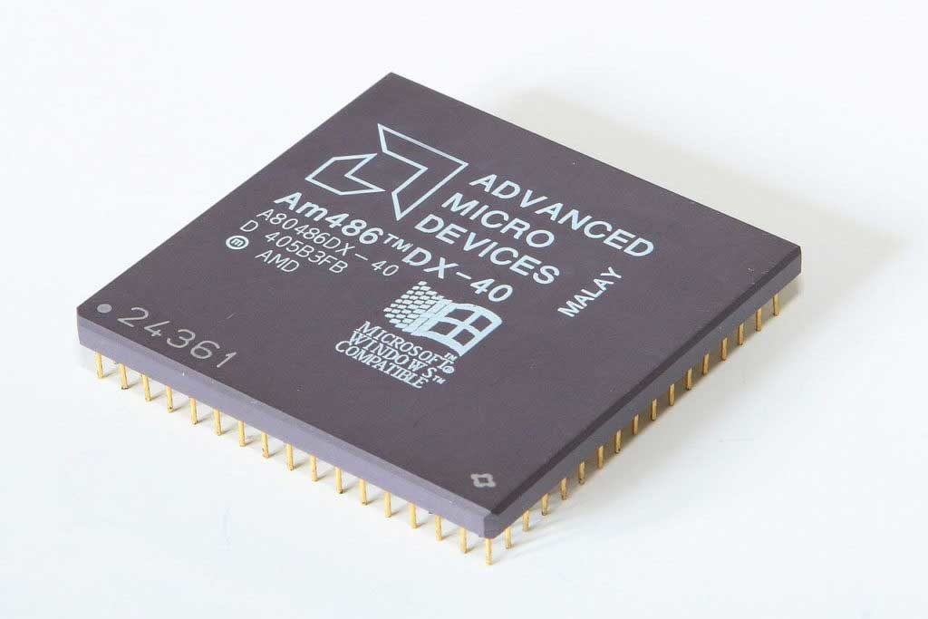پردازنده Am486DX با فرکانس ۴۰ مگاهرتز