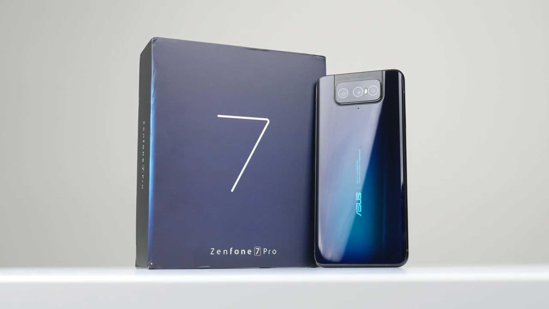 آنباکسینگ ایسوس Zenfone 7 Pro