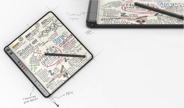 حق اختراع هواوی برای گوشی تاشو با قلم
