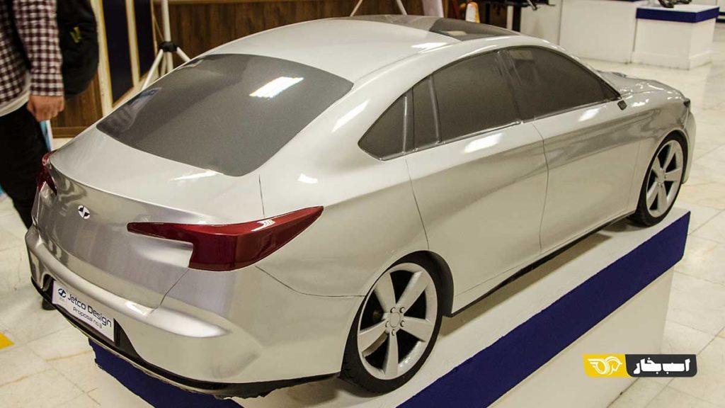طراحی سمند جدید ایران خودرو
