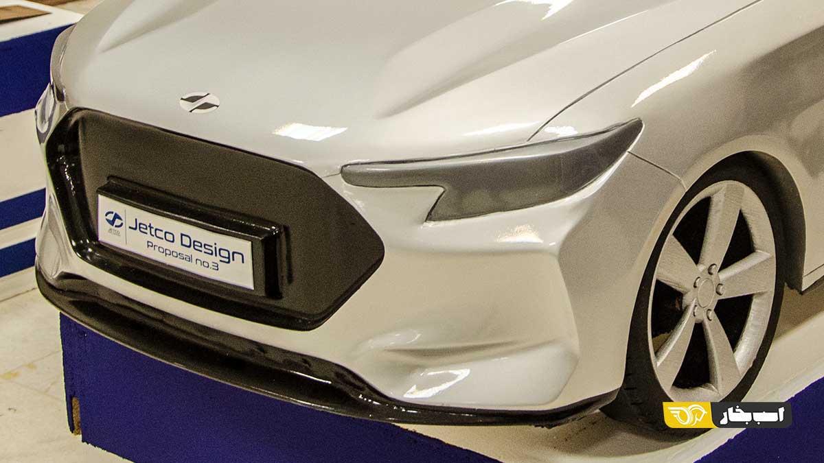طراحی سمند جدید ایران خودرو را در یک طرح مفهومی ببینید