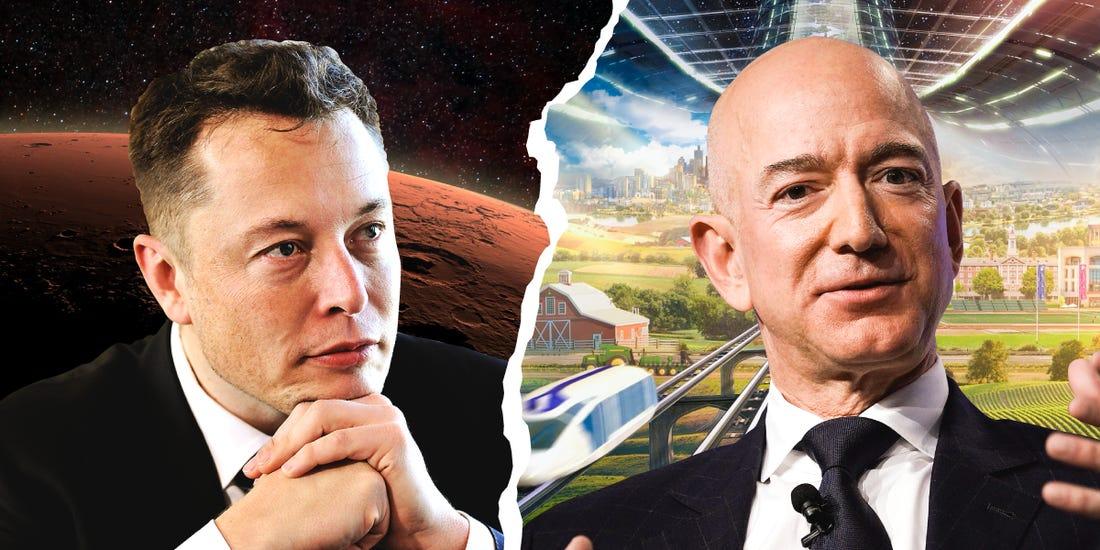 پروژه کوئیپر جف بزوس آغاز رقابت ۱۰ میلیارد دلاری با ایلان ماست است