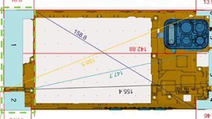 ال جی K42 اولین گوشی ال جی با دوربین چهارگانه مربعی خواهد بود