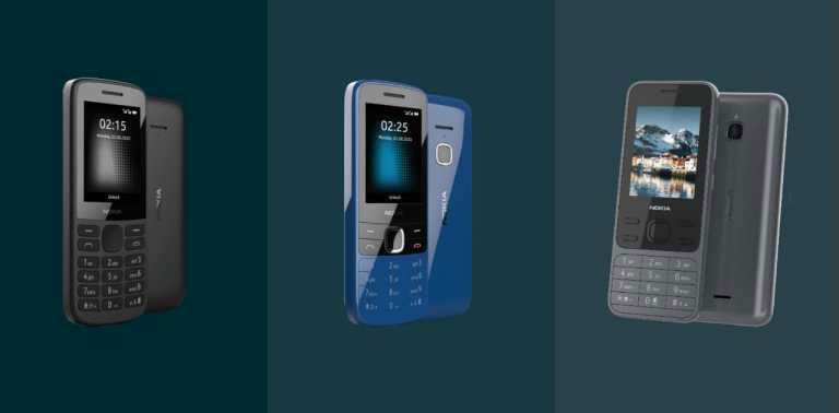 گوشی های ساده 4G نوکیا