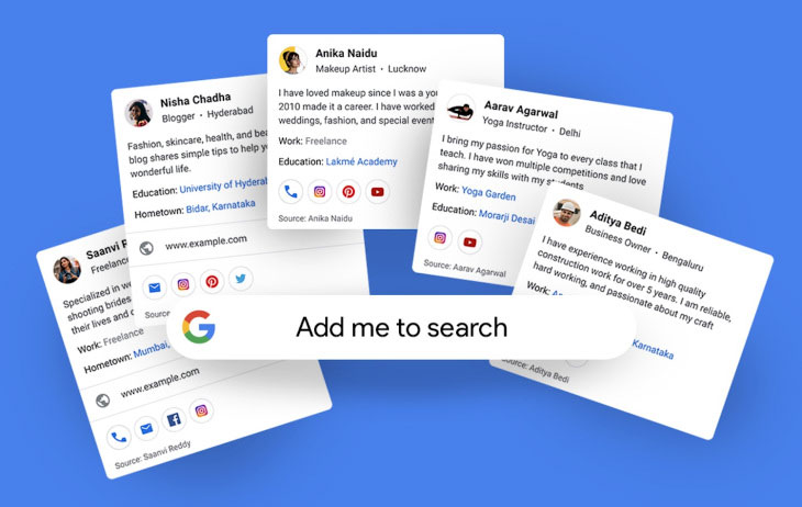 با ویژگی People Card گوگل می توانید خود را به روش خودتان معرفی کنید!