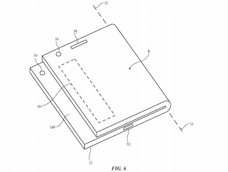 حق ثبت اختراع اپل برای تاشو دستگاه از جولای گذشته ثبت اختراع اپل برای تاشو دستگاه از جولای گذشته