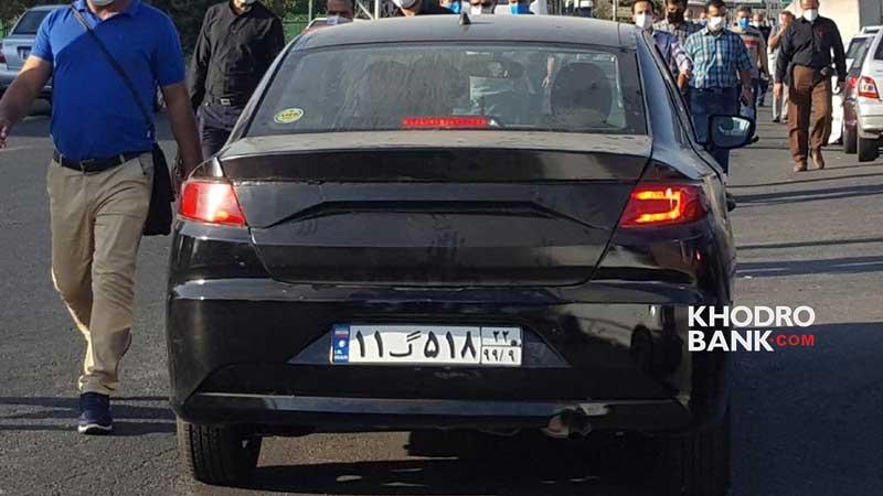 ایران خودرو K132 با ظاهری متفاوت