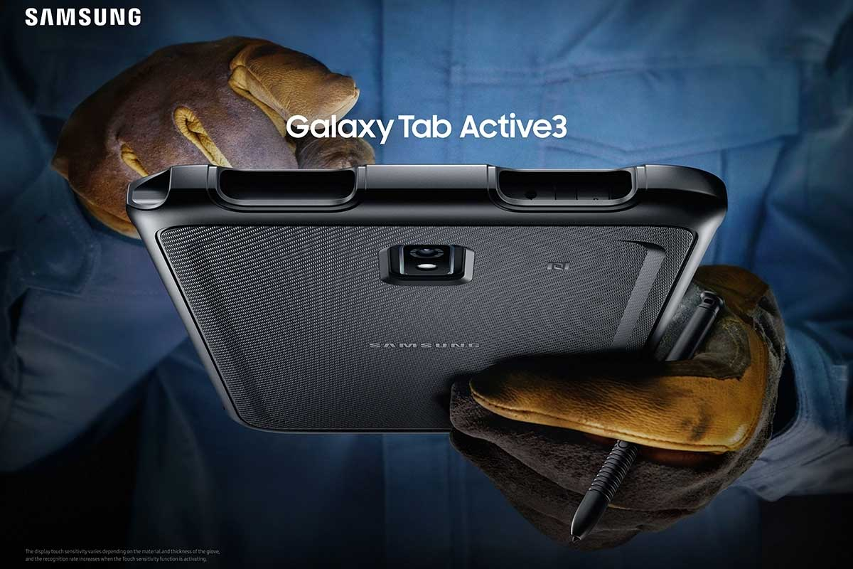 تبلت مقاوم سامسونگ Galaxy Tab Active 3