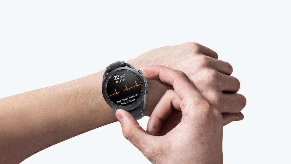 امکان گرفتن نوار قلب به ساعتهای هوشمند گلکسی Watch3 و Watch Active2 اضافه شد