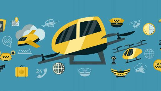 تاکسی پرنده در ایران اولین بار بهمن ۹۹ و در فرودگاه مهرآباد فعالیت خواهد کرد
