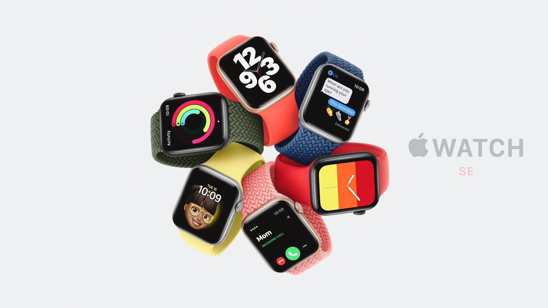 اپل واچ اس ای / Apple Watch SE با قیمت ۲۷۹ دلار رسما معرفی شد