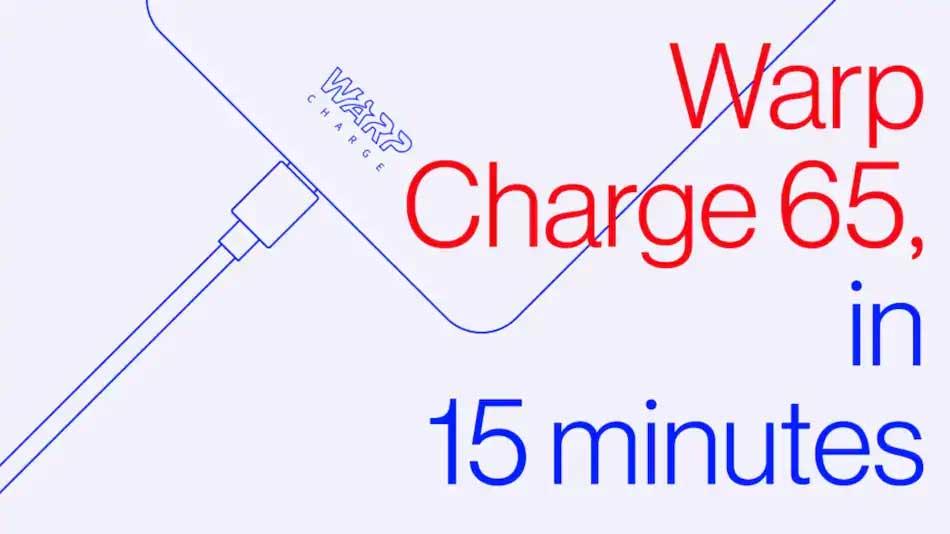 وارپ شارژ ۶۵ وان پلاس معرفی شد، قابل ارایه در وان پلاس 8T