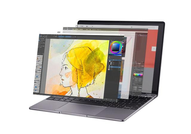 با لپ تاپ فوق سبک و قدرتمند هوآوی Matebook 13 بیشتر آشنا شوید