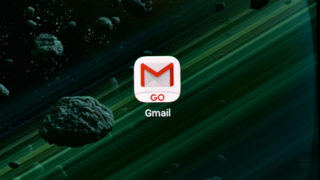 نرم افزار Gmail Go