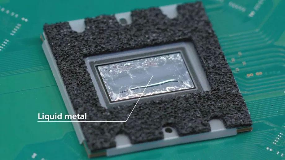 خنک کننده فلز مایع در PS5