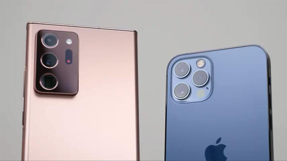 مقایسه دوربین iPhone 12 Pro با Galaxy Note 20 Ultra