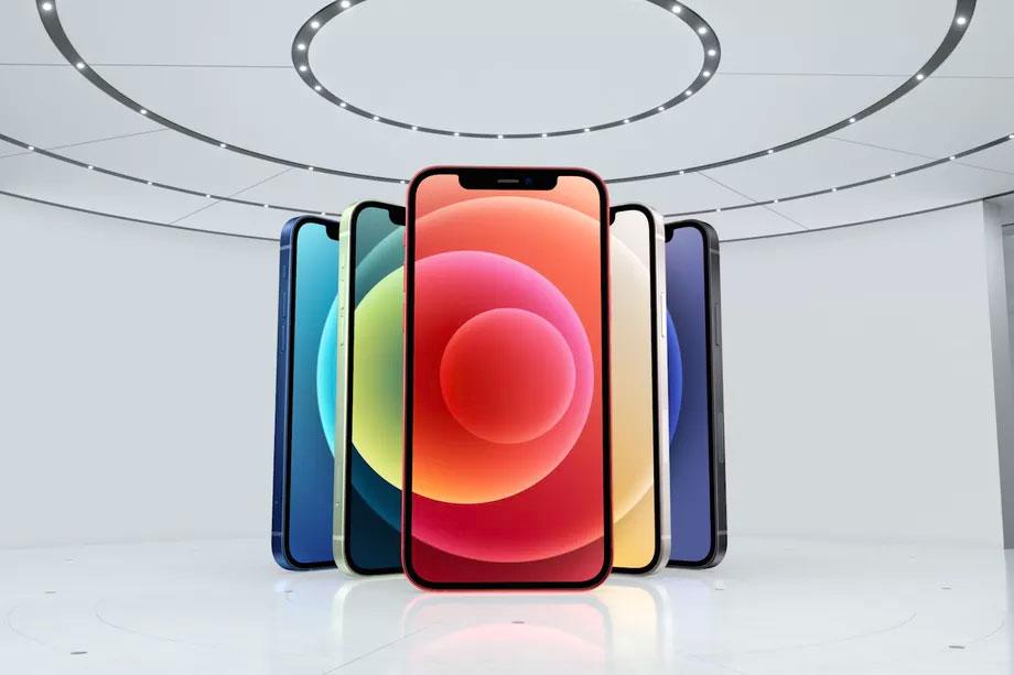 آیفون ۱۲ با نمایشگر OLED و پشتیبانی از 5G رسما معرفی شد