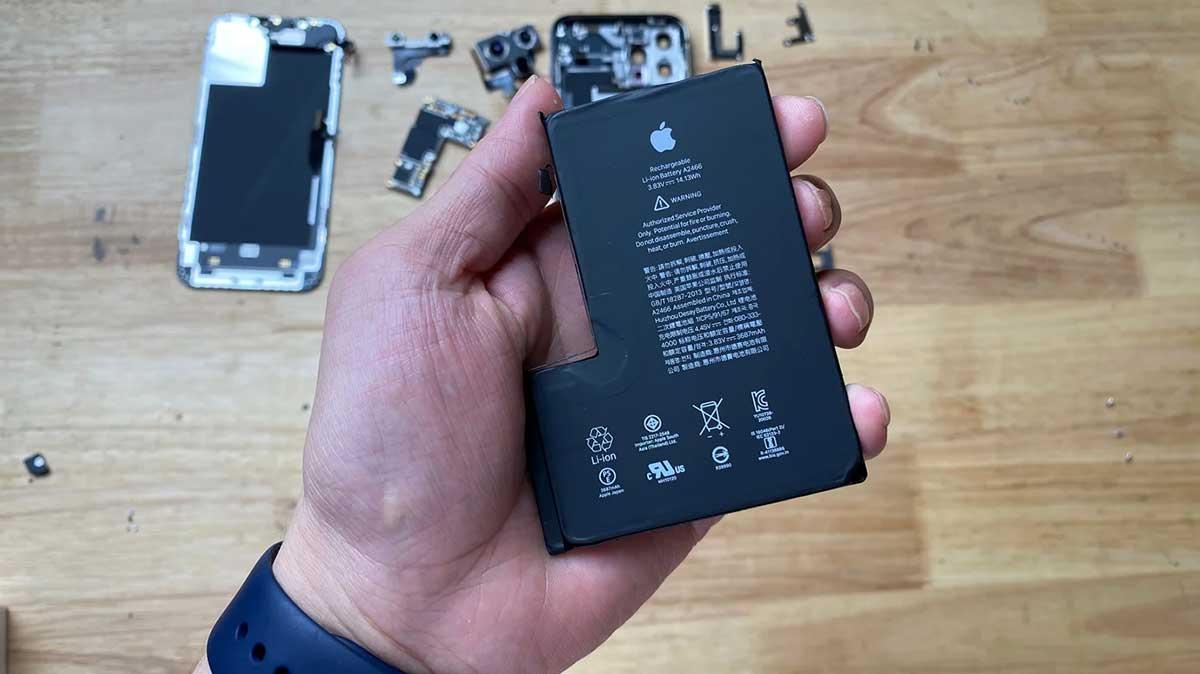 حجم باتری آیفون ۱۲ پرو مکس