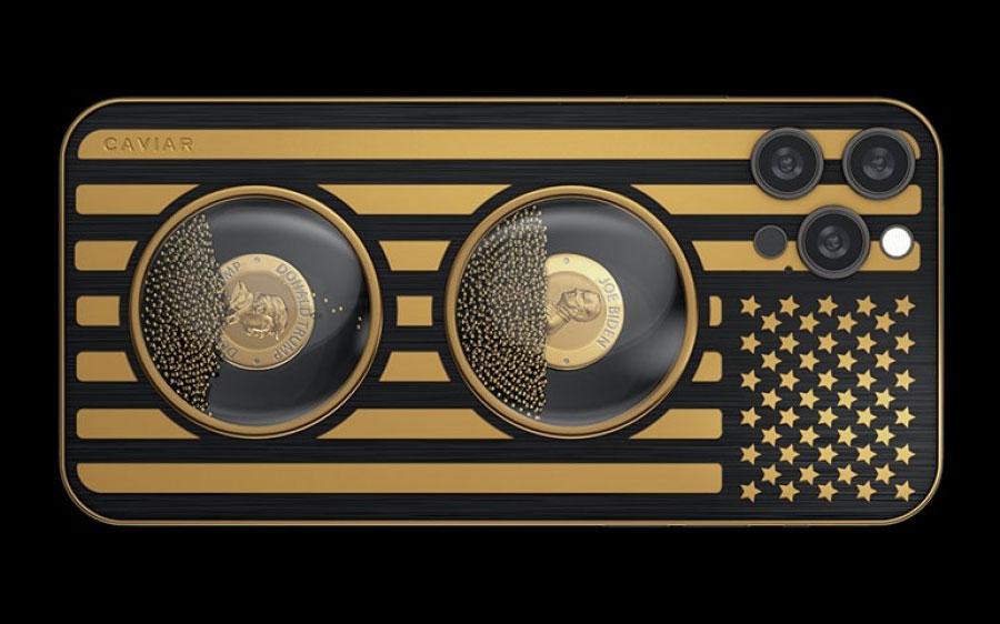 شرکت Caviar قاب خاص iPhone 12 Pro با تصویر بایدن و ترامپ منتشر کرد