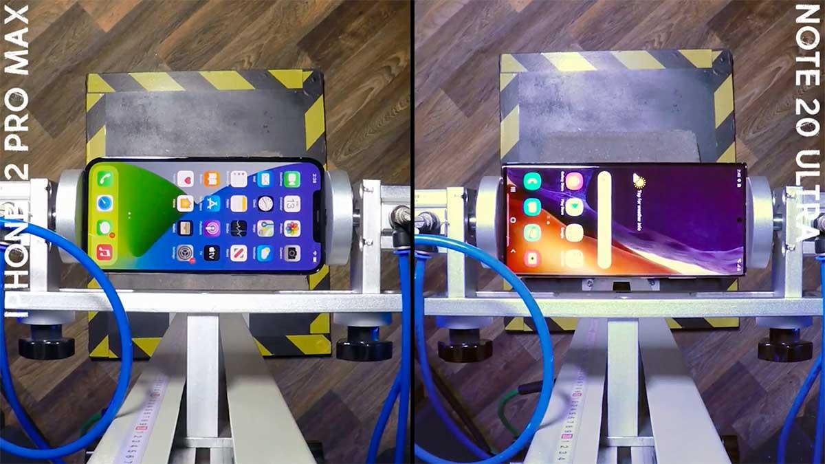 تست سقوط iPhone 12 Pro Max
