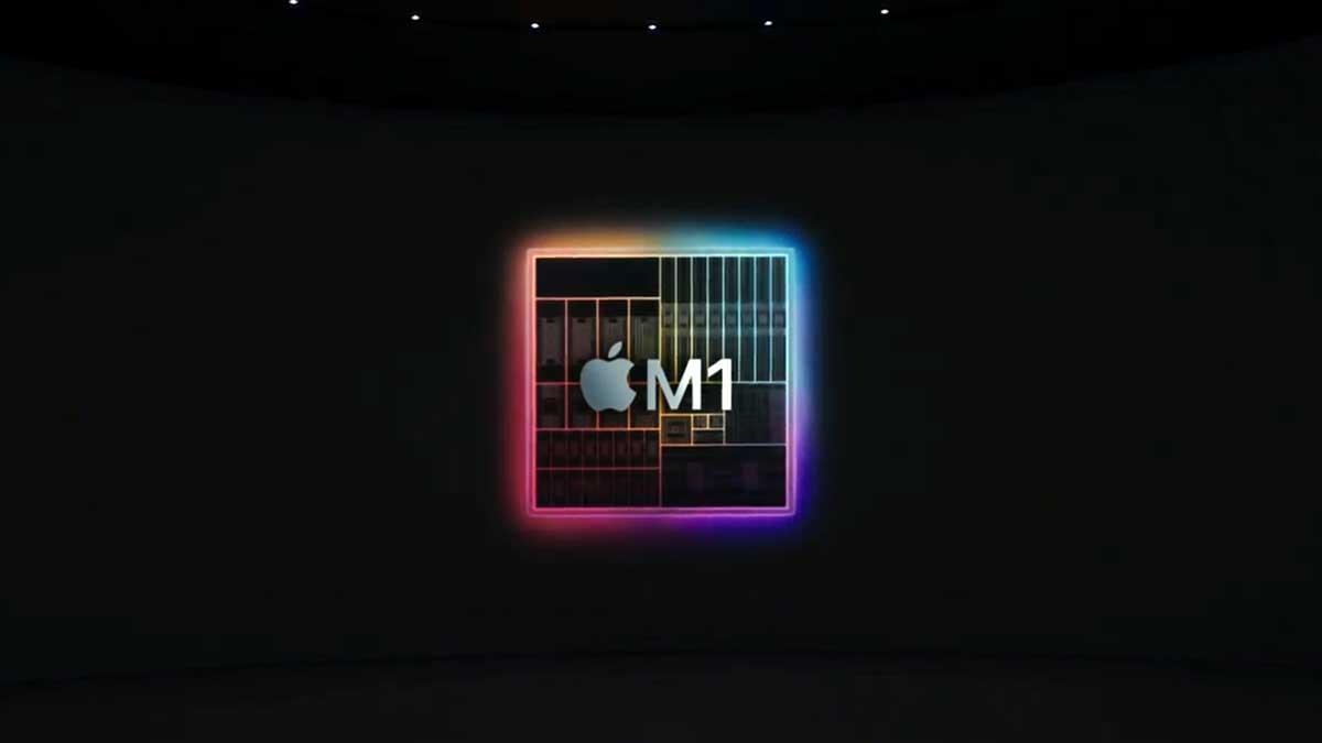 مقایسه بنچمارک Geekbench تراشه اپل M1 با اینتل Core i9