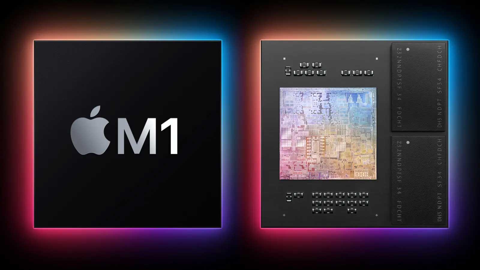 تراشه اپل M1 اولین تراشه ARM اپل برای مک بوک معرفی شد