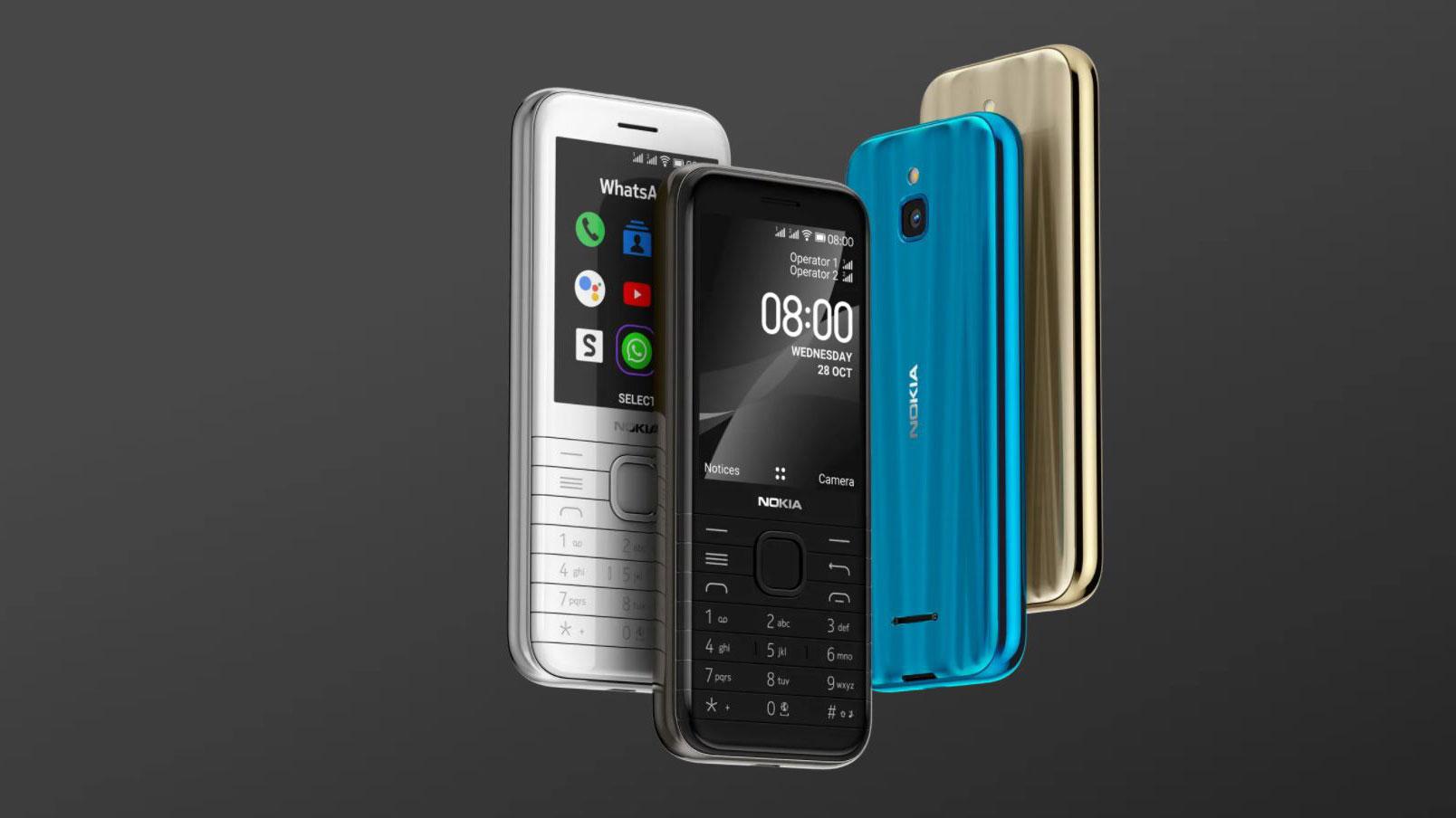 نوکیا ۸۰۰۰ مدل 4G