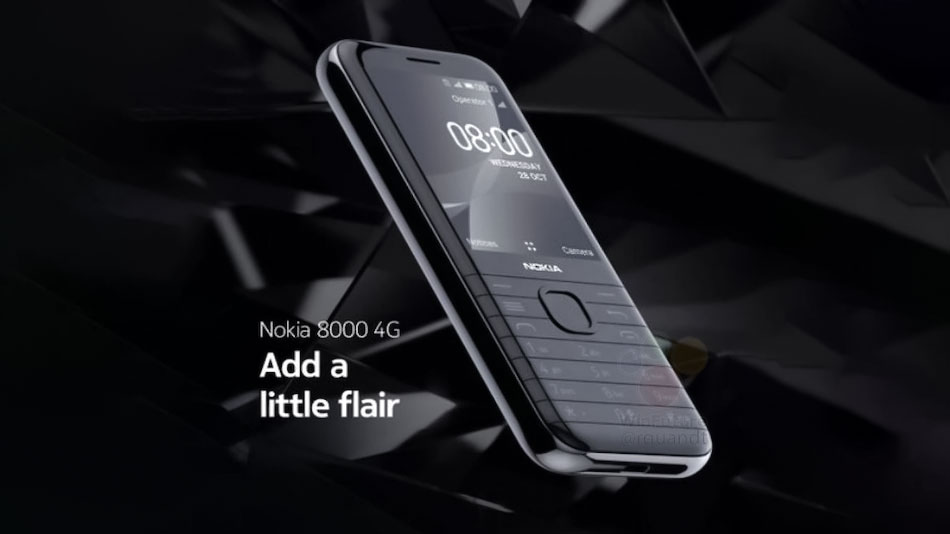 نوکیا ۸۰۰۰ مدل 4G پیش از معرفی رسمی لو رفت