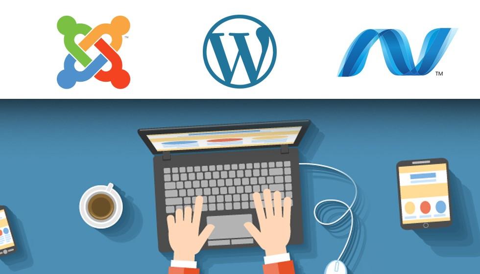طراحی سایت با وردپرس یا جوملا
