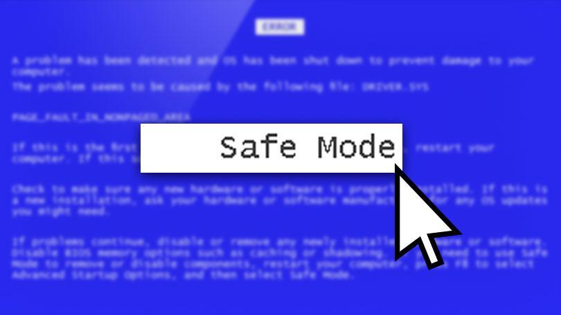 آموزش اجرای کامپیوتر در حالت امن Safe mode