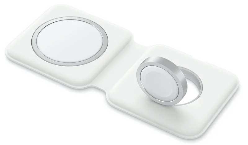 شارژر وایرلس MagSafe Duo اپل نمی تواند آیفون ۱۲ را با توان ۱۵ وات شارژر کند