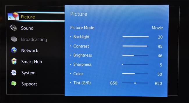 بهترین تنظیمات تلویزیون برای بازی