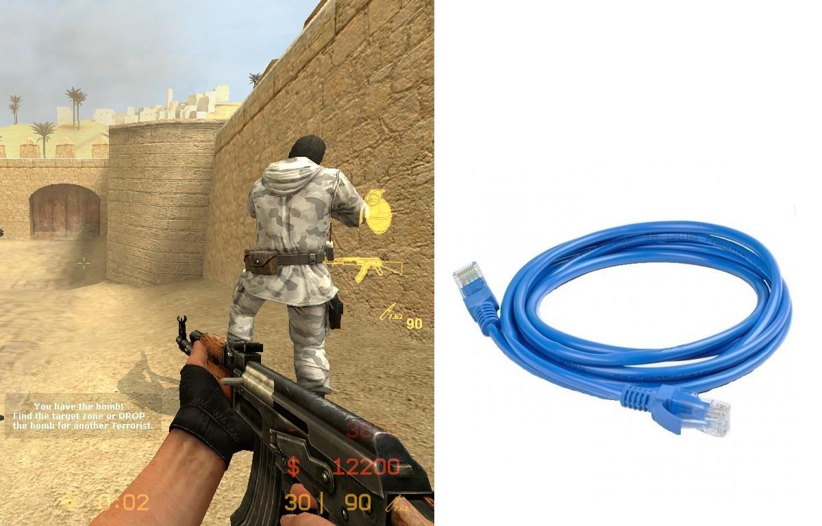 آموزش وصل کردن دو کامپیوتر با کابل شبکه (LAN) – اجرای بازی های شبکه ای، کانتر!